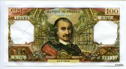 100 FRANCS CORNEILLE - Type 1964