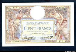 100 FRANCS LOM - Type 1906 \