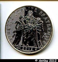 10 EUROS ARGENT MONNAIE DE PARIS HERCULE