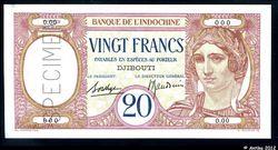 20 FRANCS \