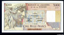 5000 FRANCS Type 1946 Statue d\'APOLLON