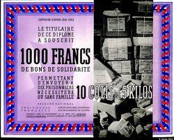 1000 Francs