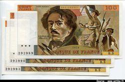 100 FRANCS DELACROIX -Type 1978