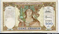 100 FRANCS \