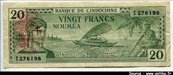 20 FRANCS Impression Australienne France LIBRE