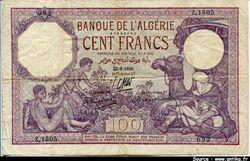 100 FRANCS Violet  Enfants nus & Chamelier