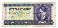 500 Forint   E.Ady   PROMO