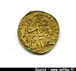 DUCAT OR CHIOS 3,51 Gr FILIPO VISCONTI 1421-1436