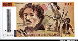 100 FRANCS DELACROIX - Type 1978 \