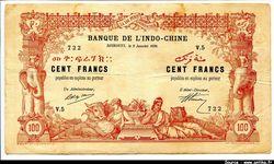 100 FRANCS  Eléphant Femmes & Animaux