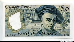 50 FRANCS QUENTIN - Type 1976