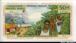 50 NF Bananiers & Bateau à Vapeur