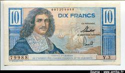10 FRANCS COLBERT