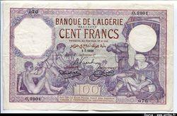 100 FRANCS Enfants nus & Chamelier