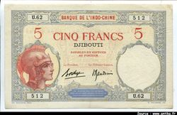 5 FRANCS \