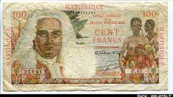 100 FRANCS LA BOURDONNAIS