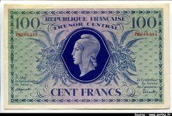 100 FRANCS MARIANNE
