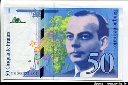 50 FRANCS SAINT-EXUPERY - Type 1992