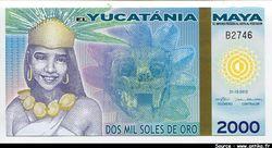 EMPIRE MAYA  2000 Soles de Oro  El Yucatania       *       *