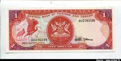 1 Dollar  Armoiries & Oiseaux