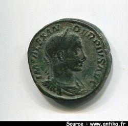 ALEXANDRE SEVERE 221-235 AP JC - SESTERCE ROME 231  R/ IOVI PRO