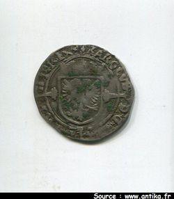 1/2 Réal Charles Quint  1506-1555