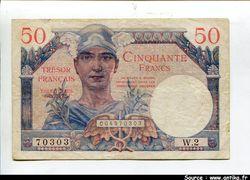 50  FRANCS \