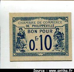 BON p/ 0fr10 Ch de commerce PHILIPPEVILLE