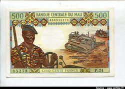 500 FRANCS Parachutiste