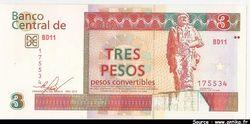 3 Pesos Convertibles    *     *         PROMO