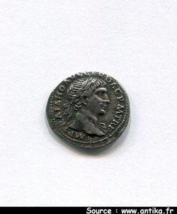 TRAJAN 98-117 AP JC - DENIER Fourré  ROME 108  R/COS V PP SPQR O