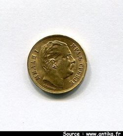 20 DINARA MILAN OBRENOVICH IV  Vienne  6,45 gr