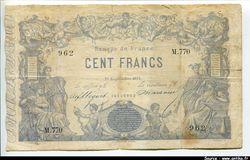 100 FRANCS - Type 1862 \