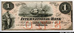 1 Dollar International Bank  Portland
