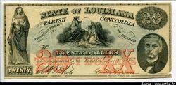 20 Dollars The Parish of Concord Vidalia