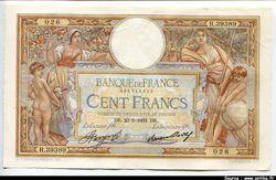 100 FRANCS LOM - Type 1906 \