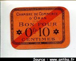 0fr10-010  Chambre Commerce ORAN