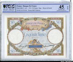 50  FRANCS LOM - Type 1927