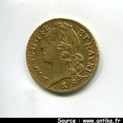 Louis d\'or au bandeau