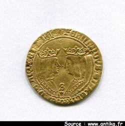 DOUBLE EXCELLENTE Isabelle & Ferdinand  1476-1516  Séville 6,13