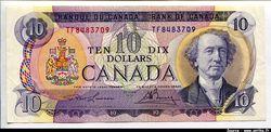 10 Dollars Sir John A.Mac Donald